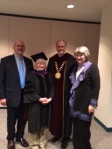 John Frett, Deborah Frett, President Droge, Dr. Molly Droge